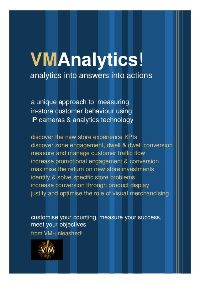 VM Unleashed-vm analytics: Discovering your stores