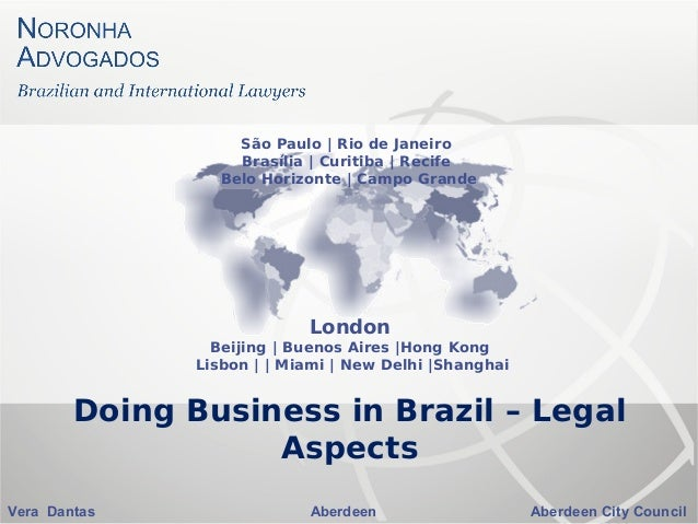 Doing Business in Brazil – Legal Aspects
