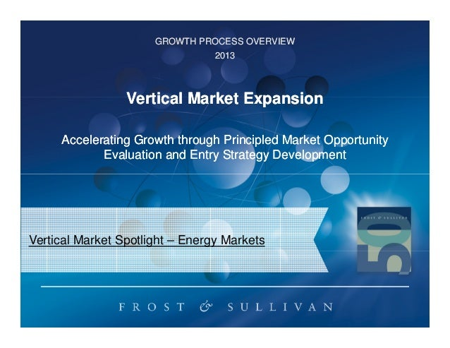 Vertical Market Expansion into the Energy Sector