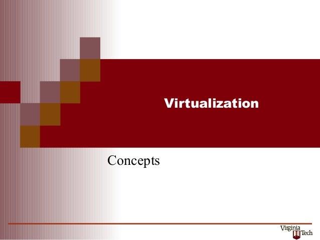 Vmm concepts