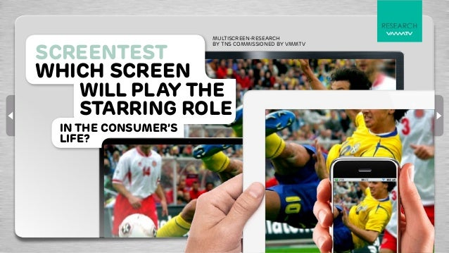 multiscreen-RESEARCHscreentest                     BY TNS COMMISSIONED BY VMMTVWhich screen   will play the   starring rol...
