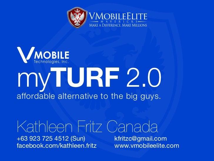VMobile myTurf 2.0
