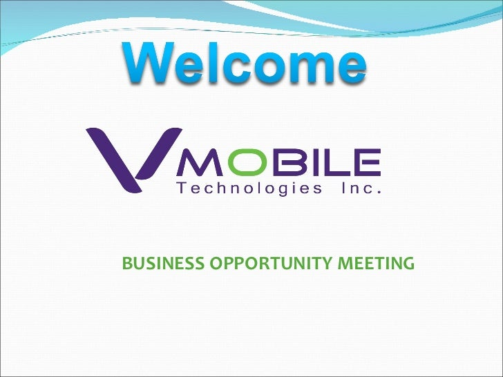 VMobile PinoyBiz Business Presentation