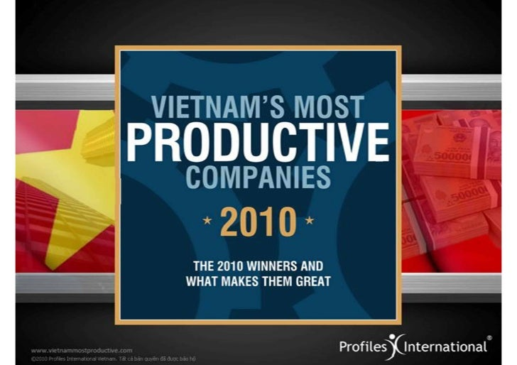[HR];[Report];[The most productive companies in Vietnam 2010]