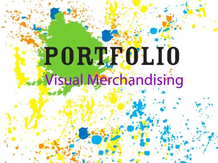 Visual Merchandising Portfolio