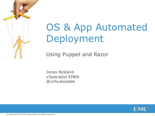 OS & App Automated                                            Deployment                                            Using ...