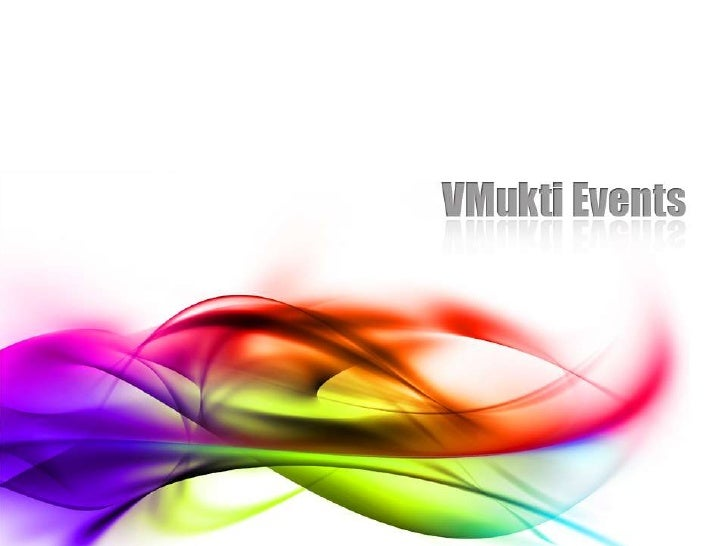 Vmukti events. You can be the next...