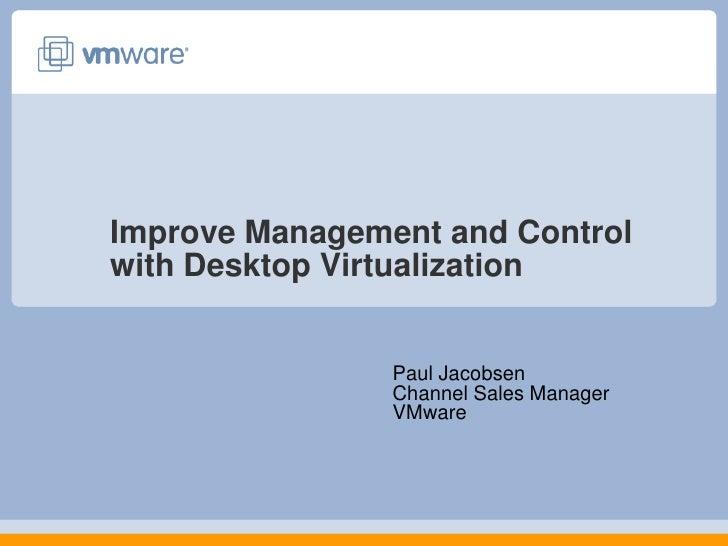 V Mware   Desktop Virtualization