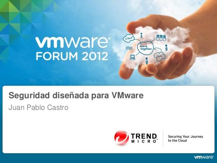 Seguridad diseñada para VMwareJuan Pablo Castro