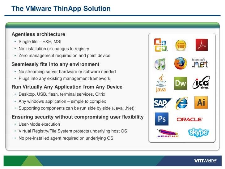 VMware ThinApp 4 5 0 238809 Portable ThinApp