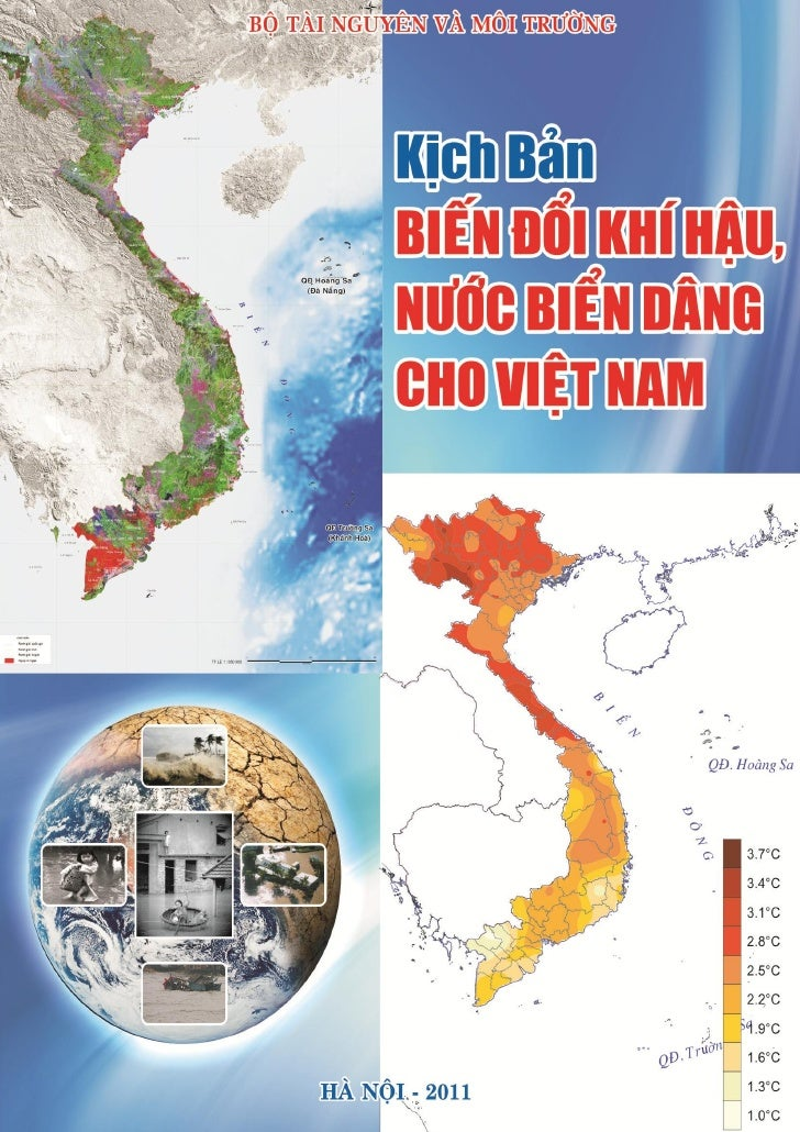 Kich ban bien doi khi hau, nuoc bien dang cho Viet Nam