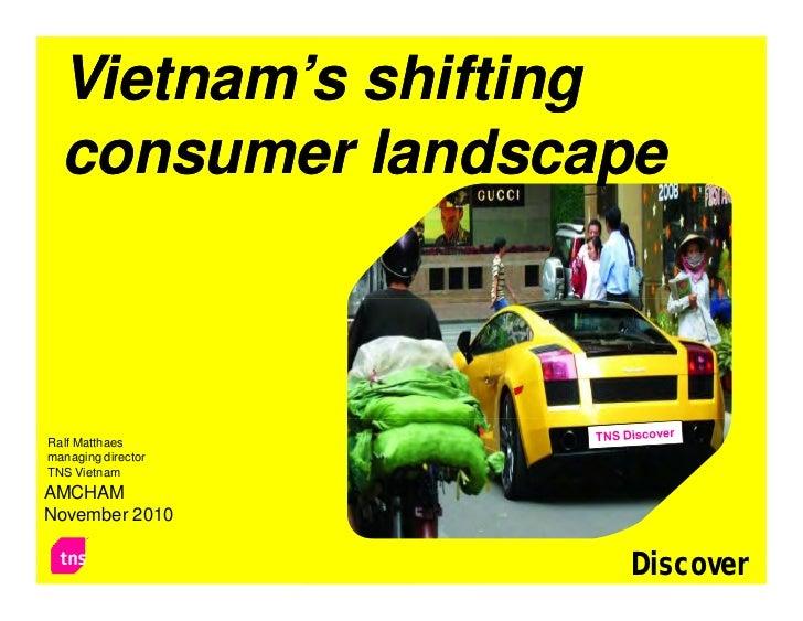 Vietnam Consumer Trends - Xu hướng người tiêu dùng Việt Nam