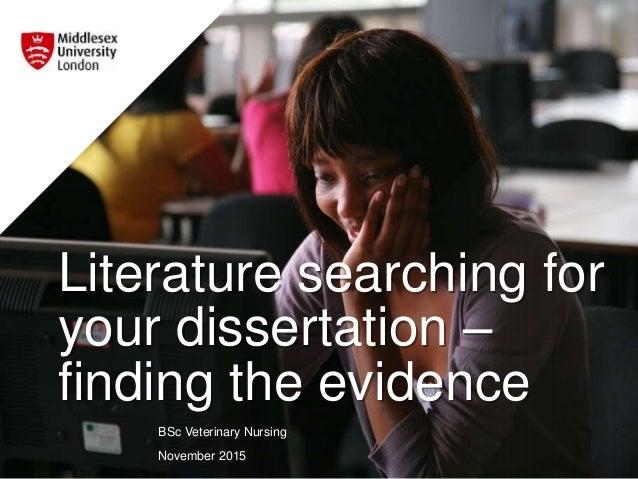 Nursing Dissertation Help and Writing Samples