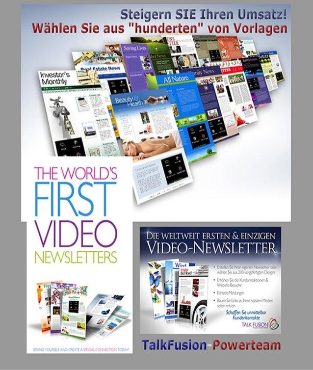 VIDEO Newsletter - catalog / galerie