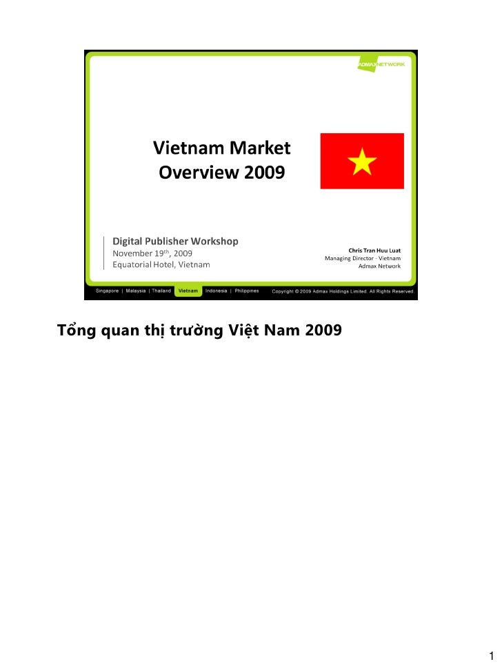 Vietnam digital marketing overview 2009