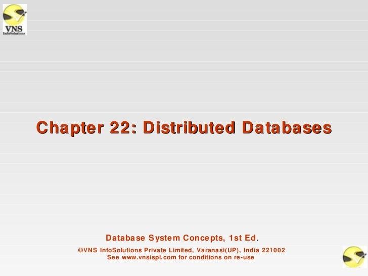 VNSISPL_DBMS_Concepts_ch22