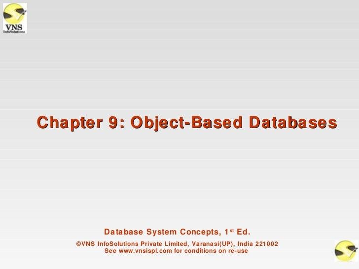 VNSISPL_DBMS_Concepts_ch9