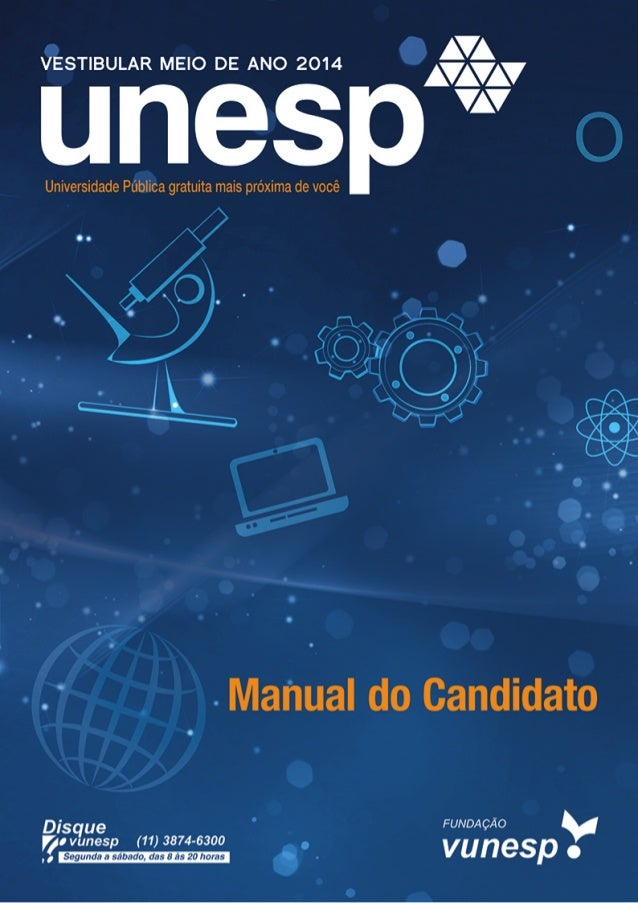 Manual do Candidato Unesp 2014