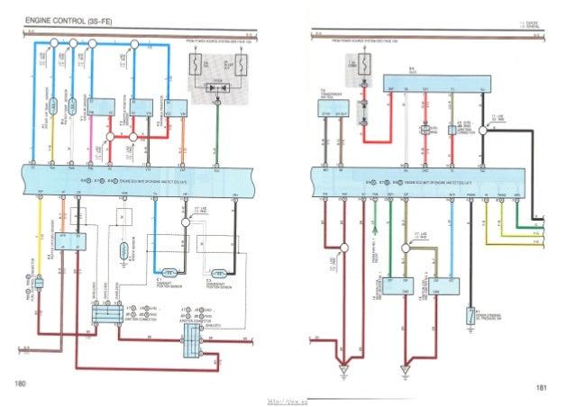 Electrical Wiring Diagram Toyota Avensis : Toyota corona wiring diagram corolla wagon