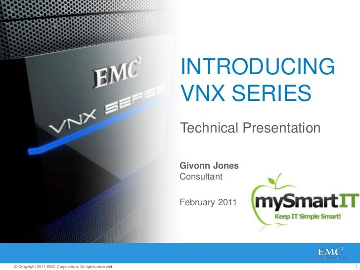 Vnx series-technical-review-110616214632-phpapp02