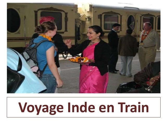 Voyage Inde en Train