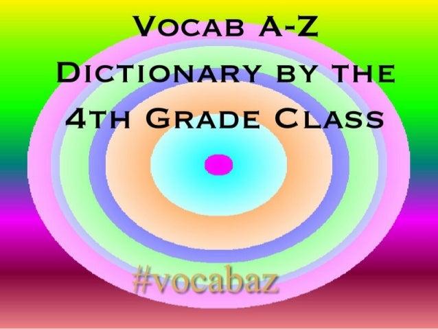 #VocabAZ Dictionary