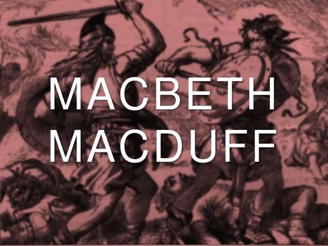 Macduff Macbeth Foil Macbeth Macduff 10