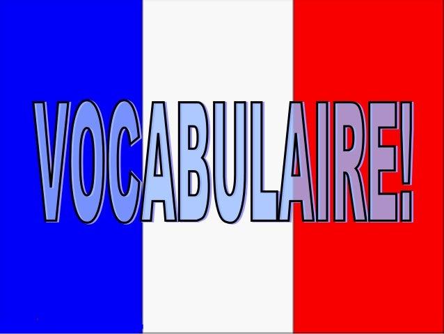 Vocabulaire ines 2010