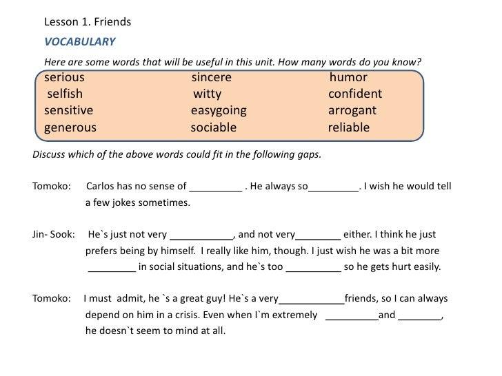 Vocabular