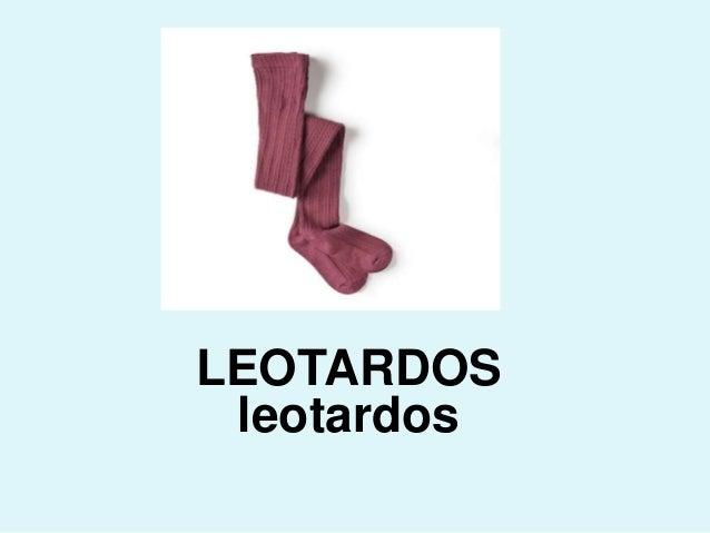 LEOTARDOS leotardos