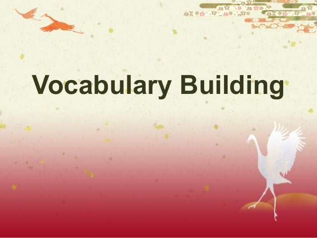 Vocabulary2009