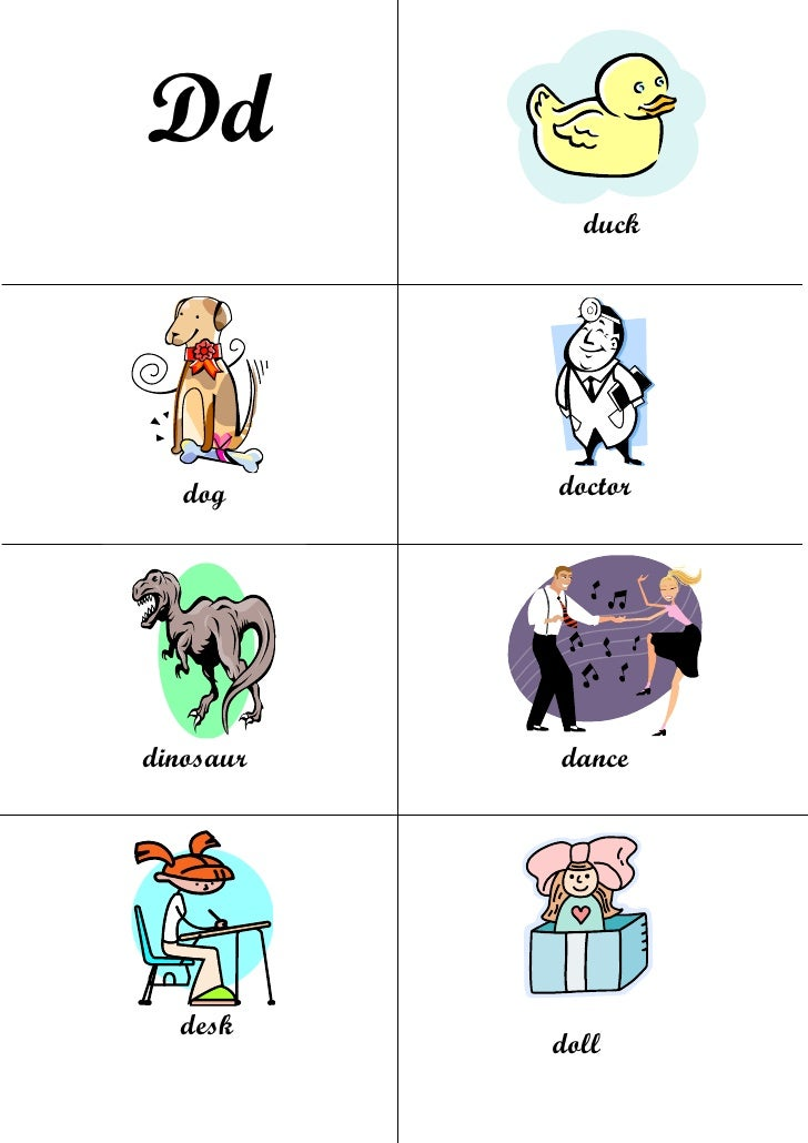 Vocabulary flashcards d