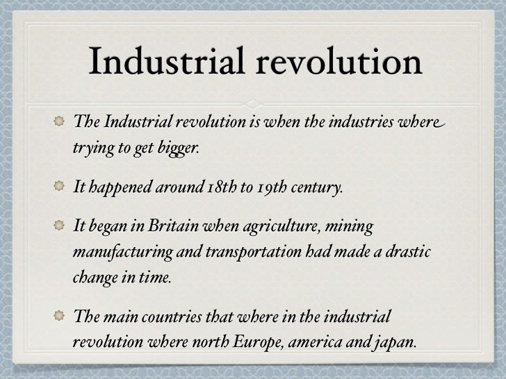 a history of the industrial prosperity in the industrial revolution Emma griffin explains how 19th-century working-class autobiographies could revise our understanding of the industrial revolution full employment was the single most important way of increasing a family's prosperity, but it was also significant because it changed the balance of power in the working relationship as long.