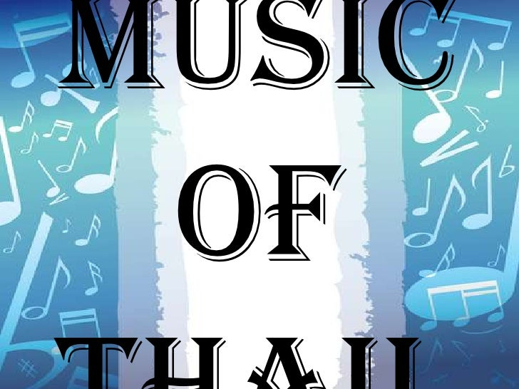 Vocal music of thailand