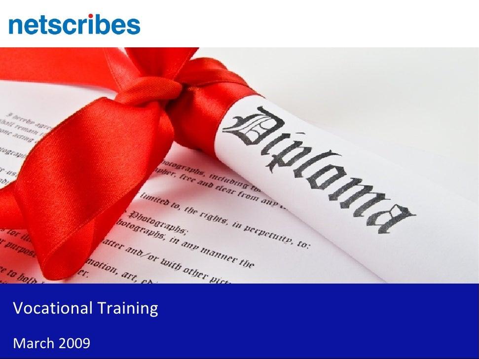 Vocational Training   India   Sample
