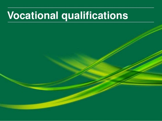 Vocational Qualifications for Digital Skills