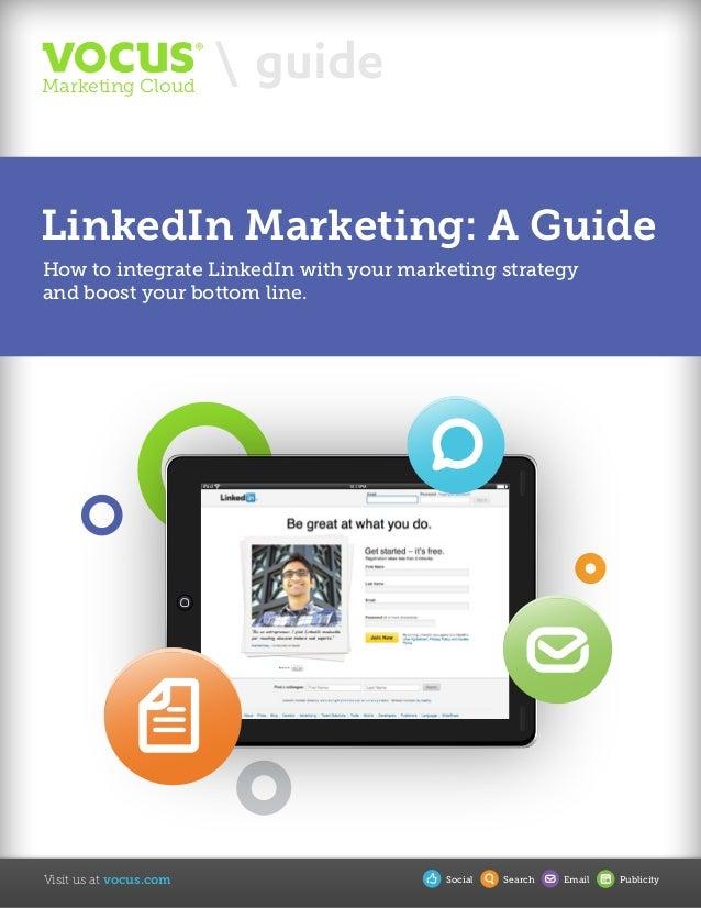 Vocus LinkedIn Marketing Guide