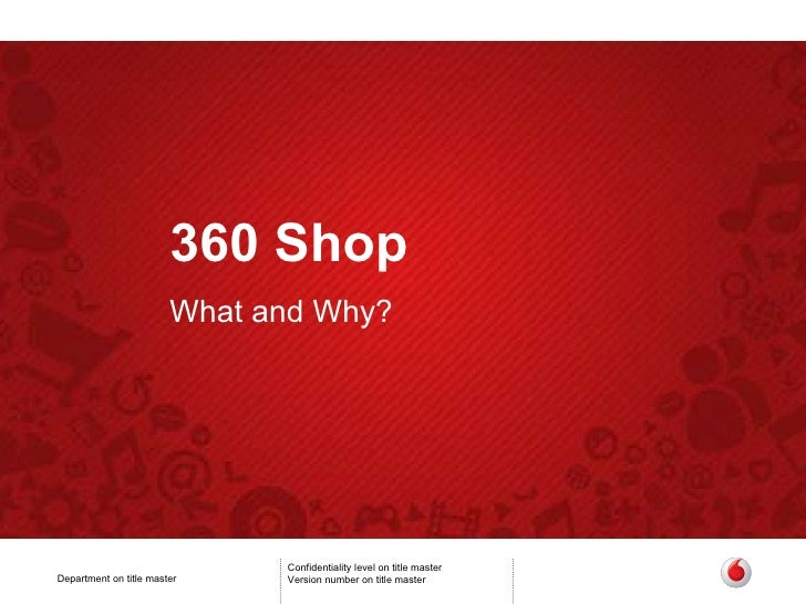 360 Shop What and Why?