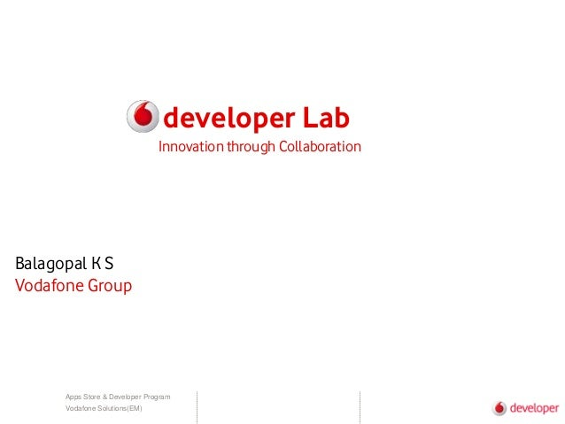 Vodafone developerlab