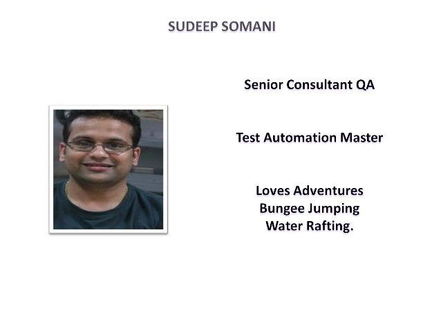 DNA of Automation - Sudeep Somani