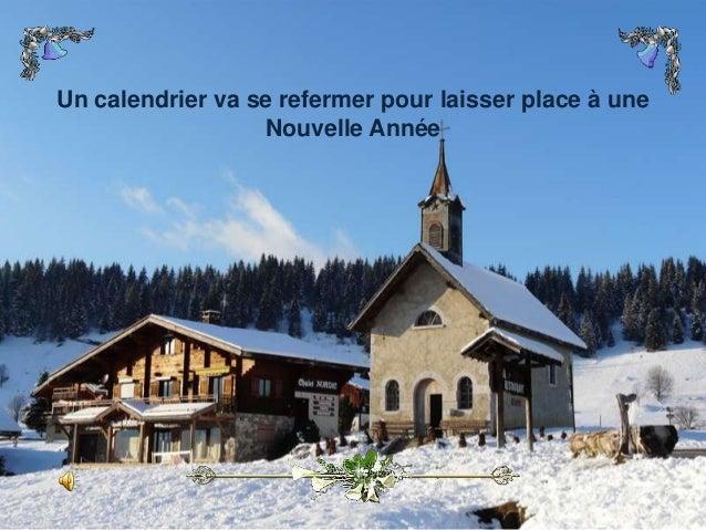 Un calendrier va se refermer pour laisser place à une Nouvelle Année