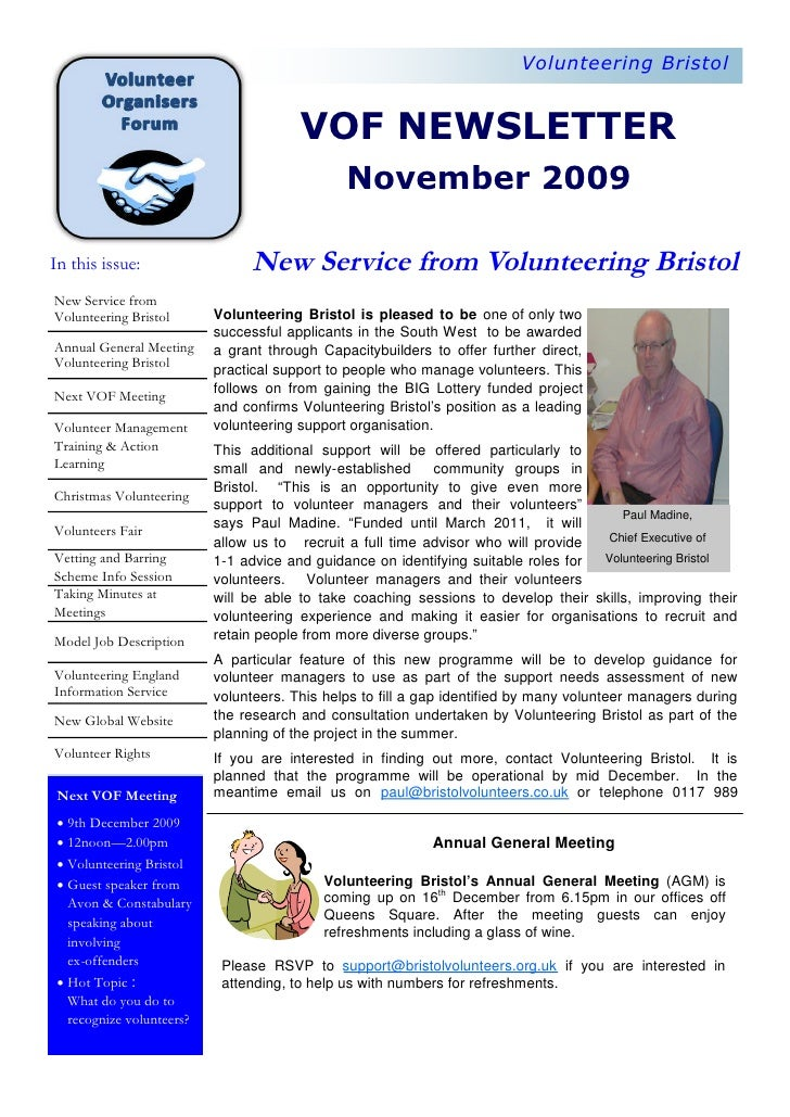 Vof News November 09