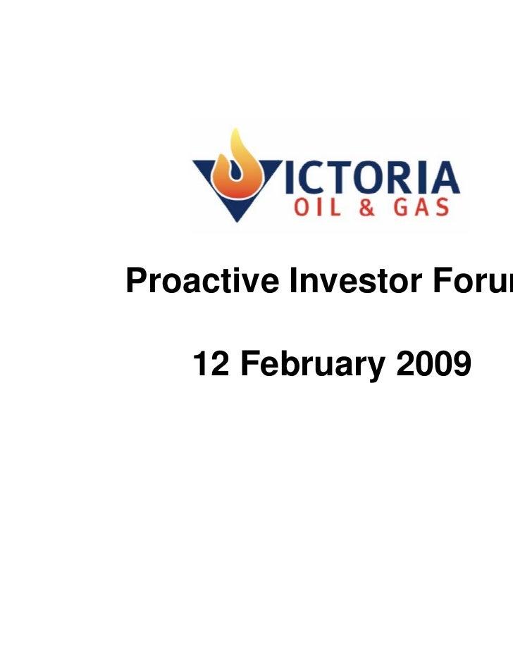 Proactive Investor Presentation - February 2009