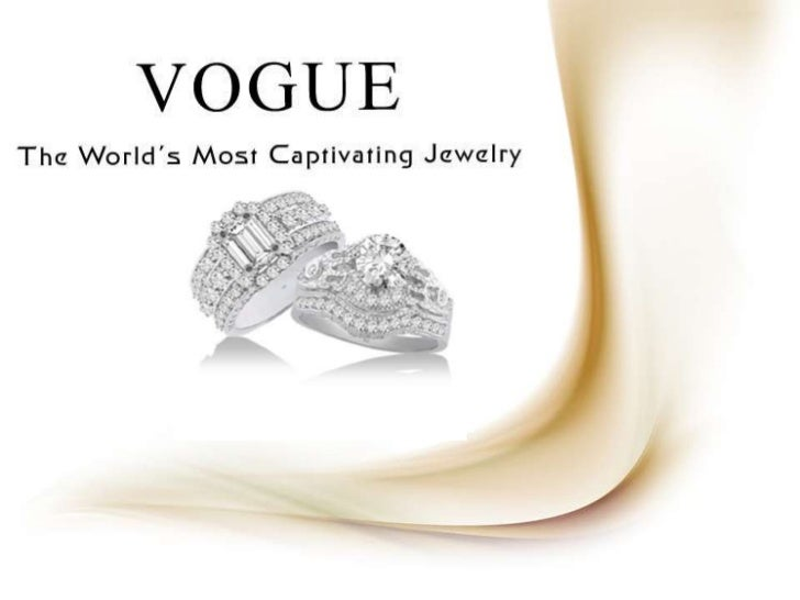 Star Gems, Inc. New Jewelry products in the luxurious VOGUE Brand of Jewelry