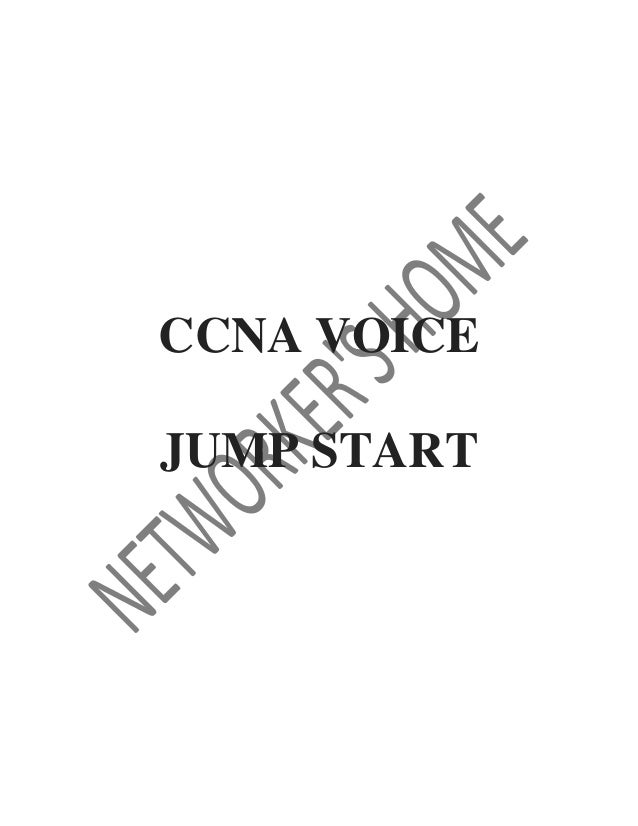 CCNA Voice workbook
