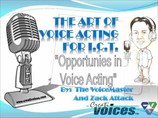 Voice acting pc buyers 2010