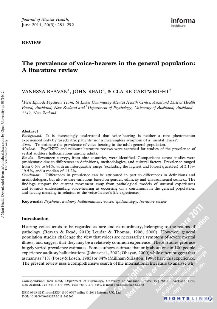 Voice hearers 2