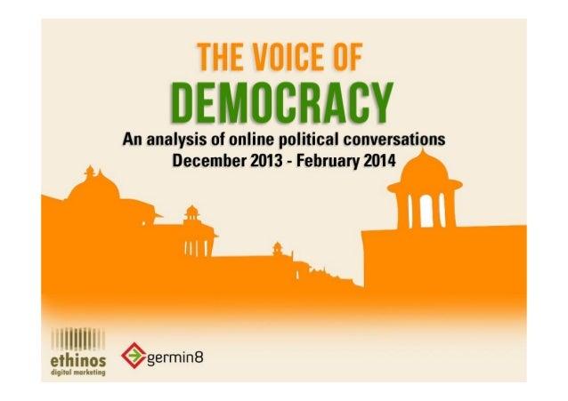 Voice Of Democracy - Dec. 2013 to Feb. 2014