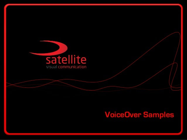 VoiceOver Samples