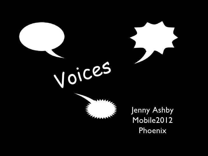 ic e sV o               Jenny Ashby               Mobile2012                 Phoenix